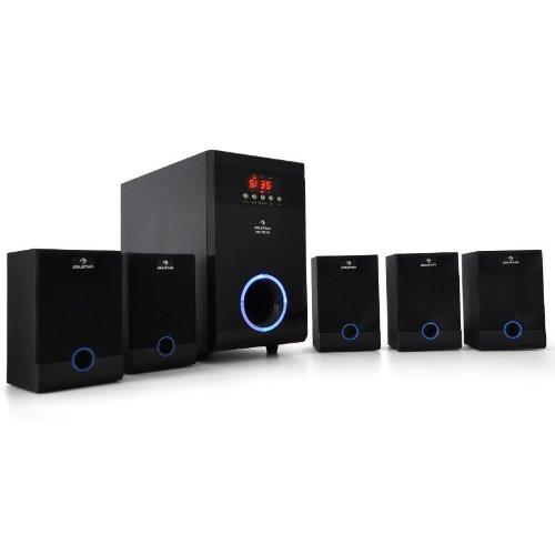 Auna 5 1 Funk Lautsprecher Test Soundsystem Test Com
