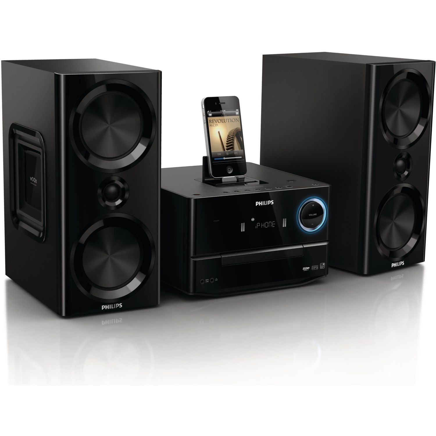 philips dcm3020 kompaktanlage test soundsystem. Black Bedroom Furniture Sets. Home Design Ideas